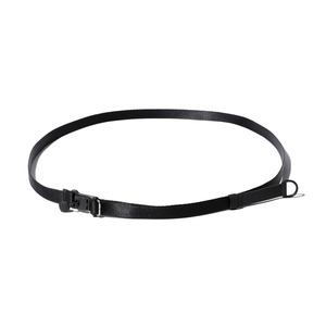Quick Adjust Narrow Belt One Black