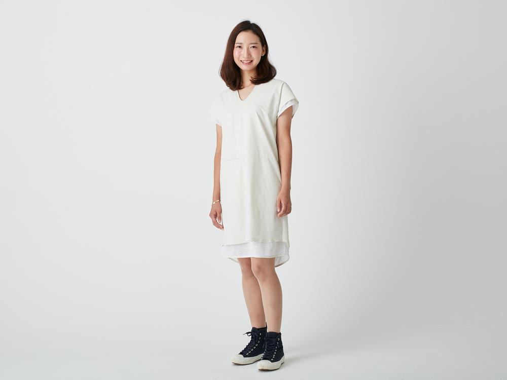 Super Dry 2L Dress 3 White1