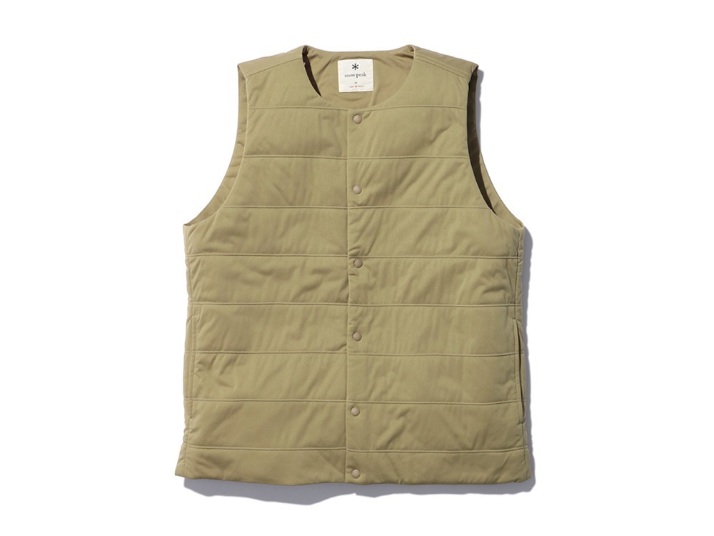Flexible Insulated Vest M Beige