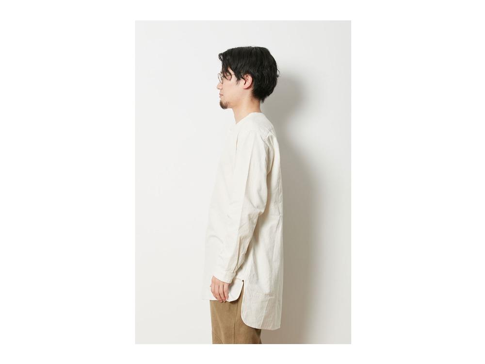ナシジ スリーピングシャツ 1 Ecru