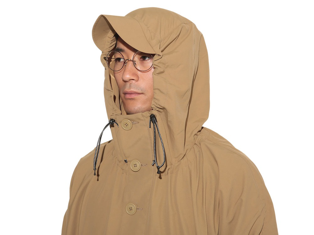 Camping Over Poncho M Beige6