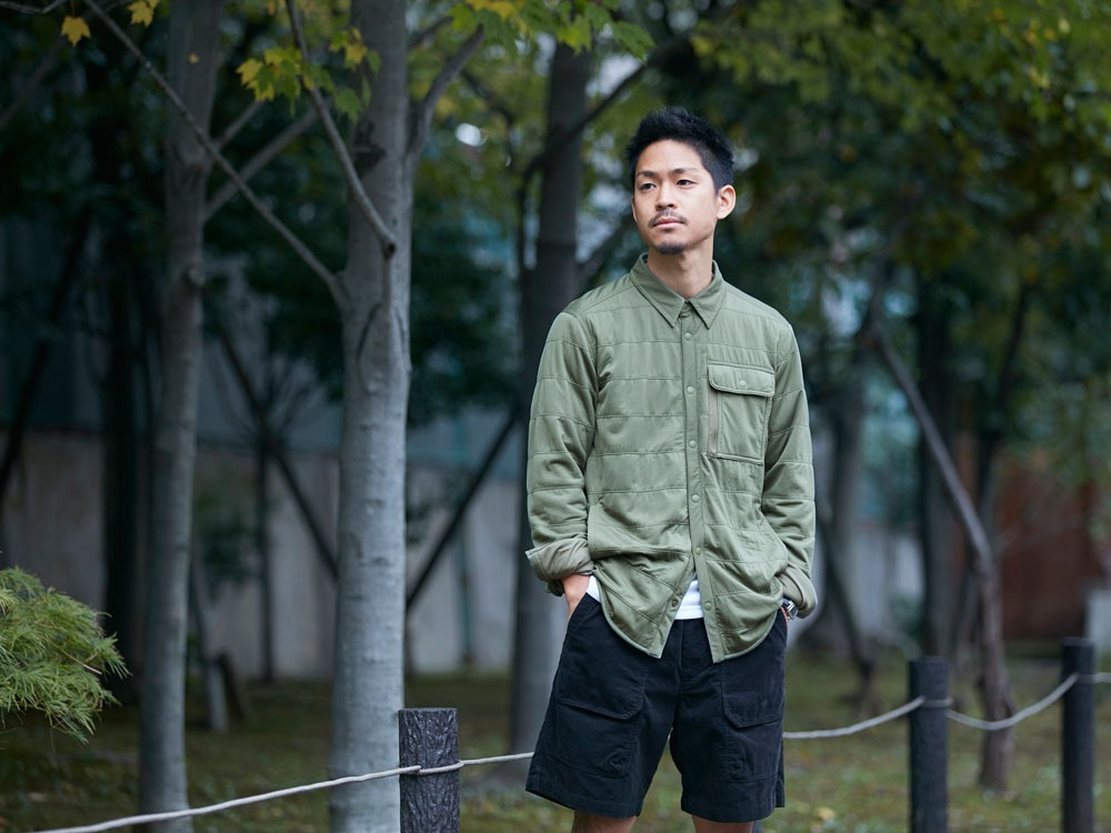 FlexibleInsulatedShirt  L Olive9