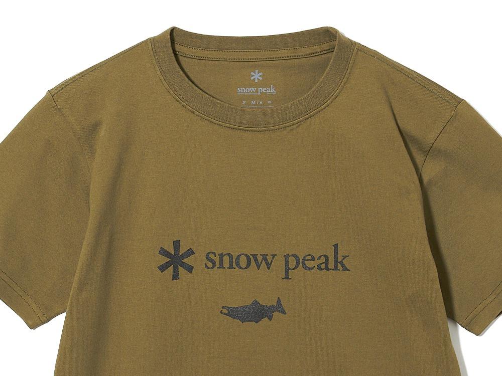 SP×TONEDTROUT Logo Tshirt XL White
