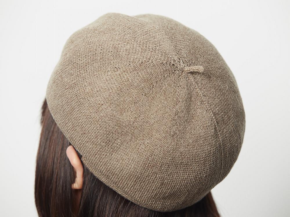 ウールベレー帽 ブラウン