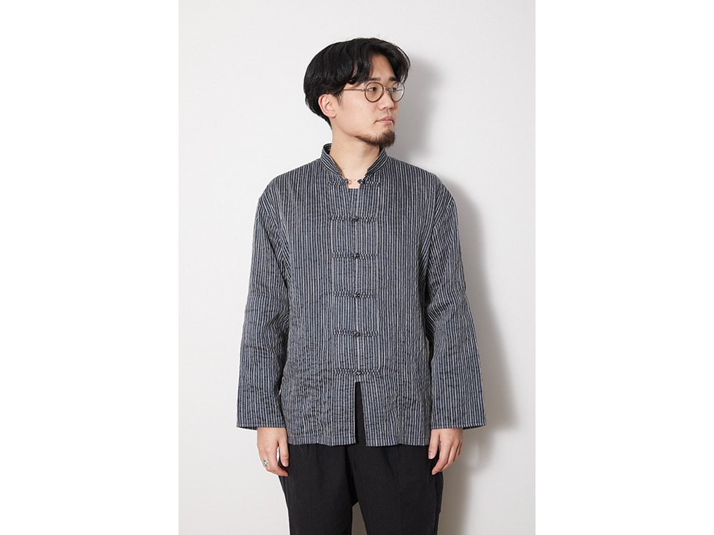 C/R Light Stripe China Jacket 1 Blue