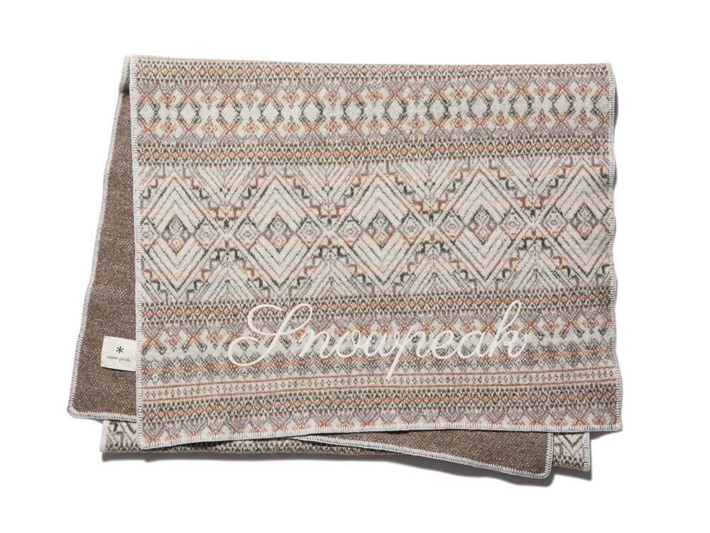 Wool Blanket  One Ecru