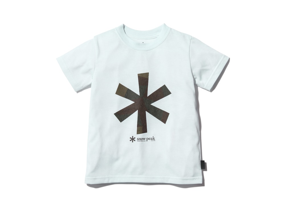 Kid'sQuickDryTshirt/RainCamo 2 White0