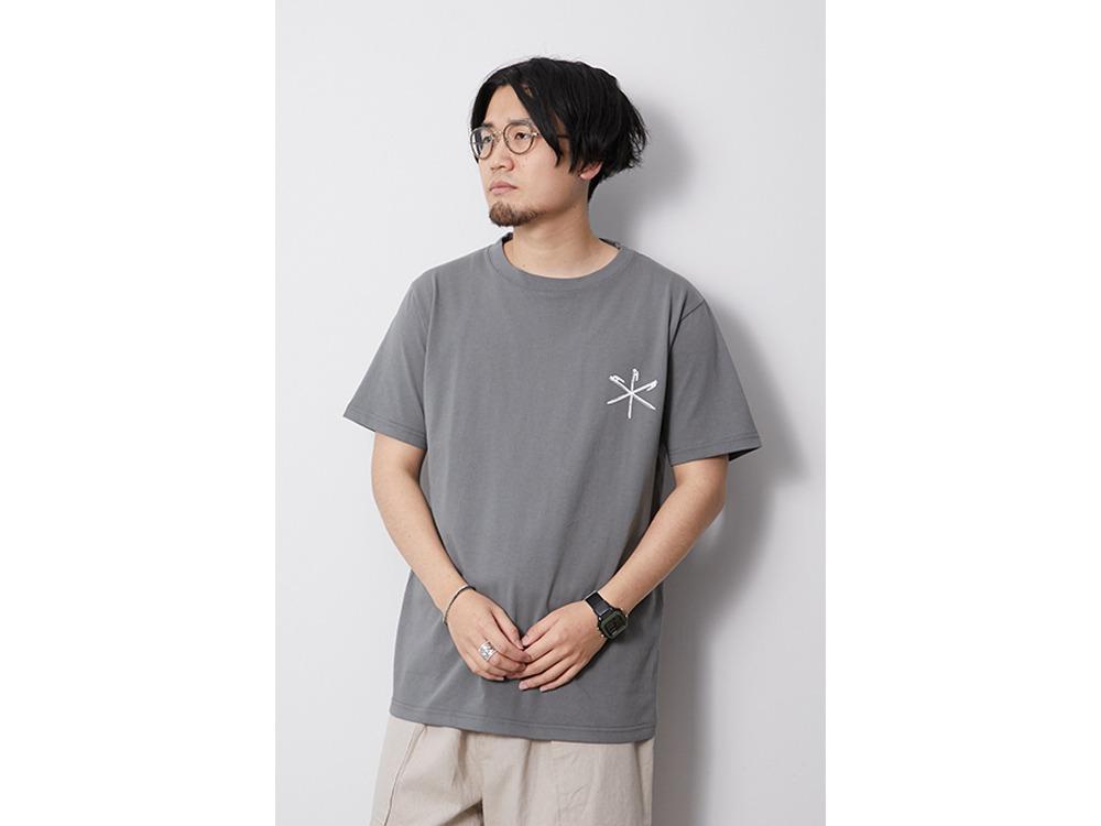 Printed Tshirt Peg & Hammer M White