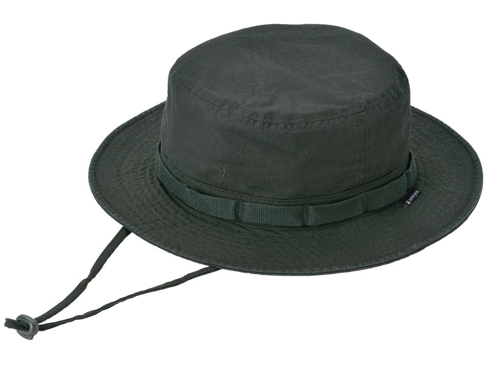Cotton Safari Hat Black0