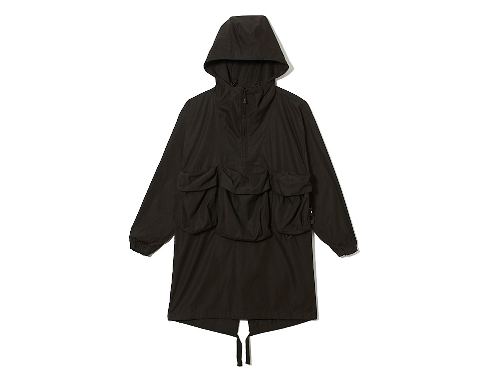 Field Fishing Poncho S Black