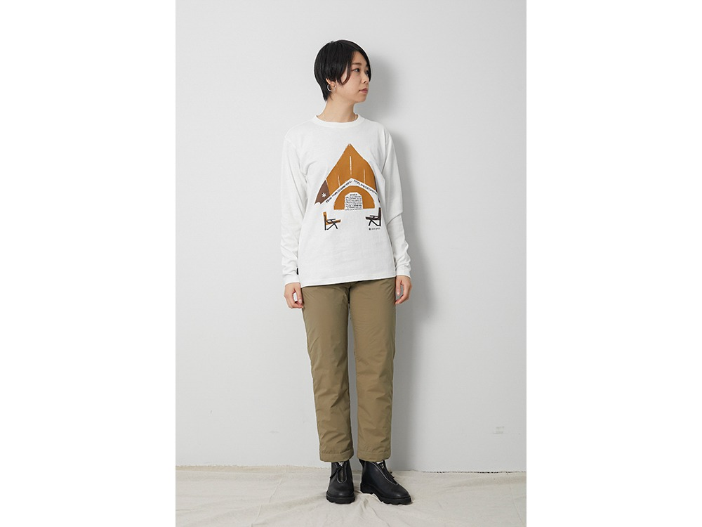 Relaxed Camping L/S Tee M Black