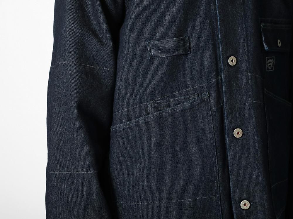 TAKIBI Denim Jacket M Black