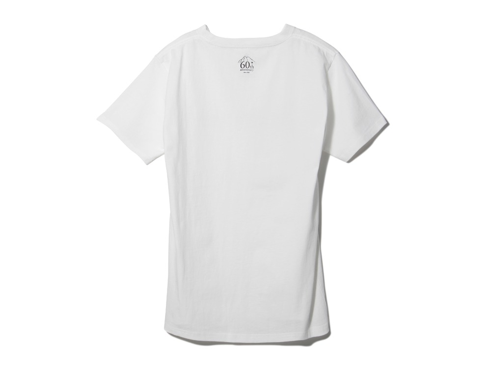 60th Logo Tshirt 2 S White