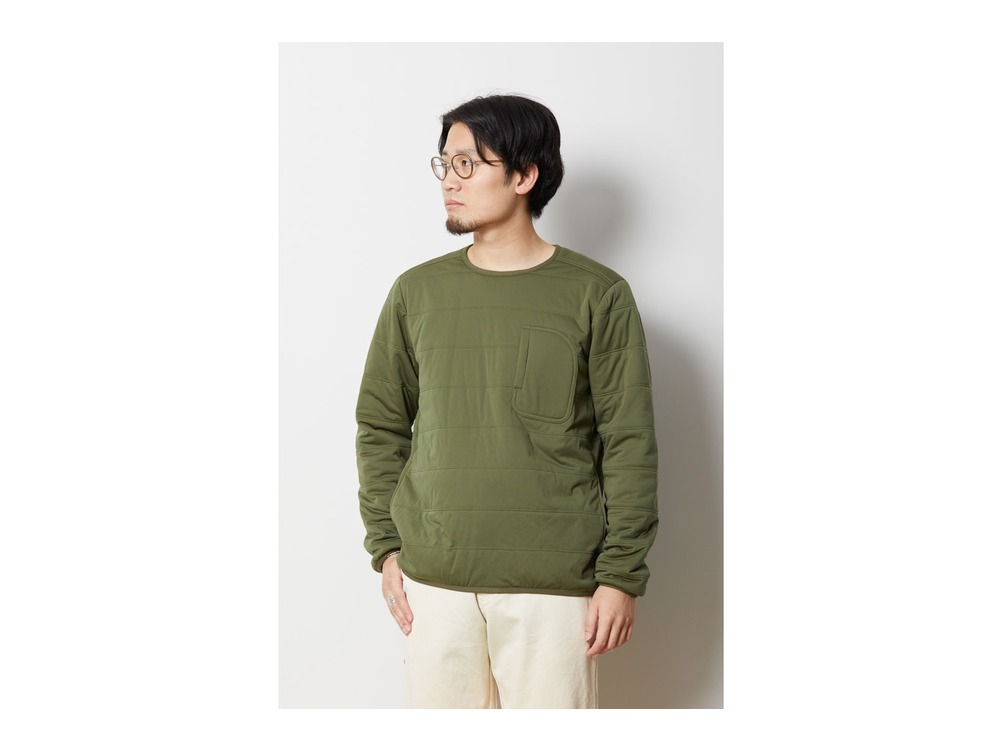 Flexible Insulated Pullover XXL Olive