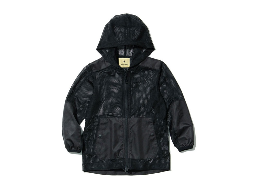 キッズ インセクトシールド パーカ 1 ブラック