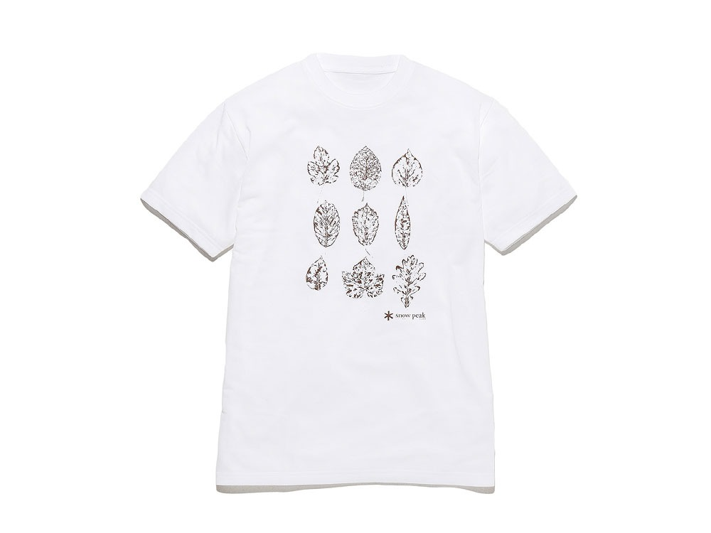 Printed Tshirt:Greenleaf L White0