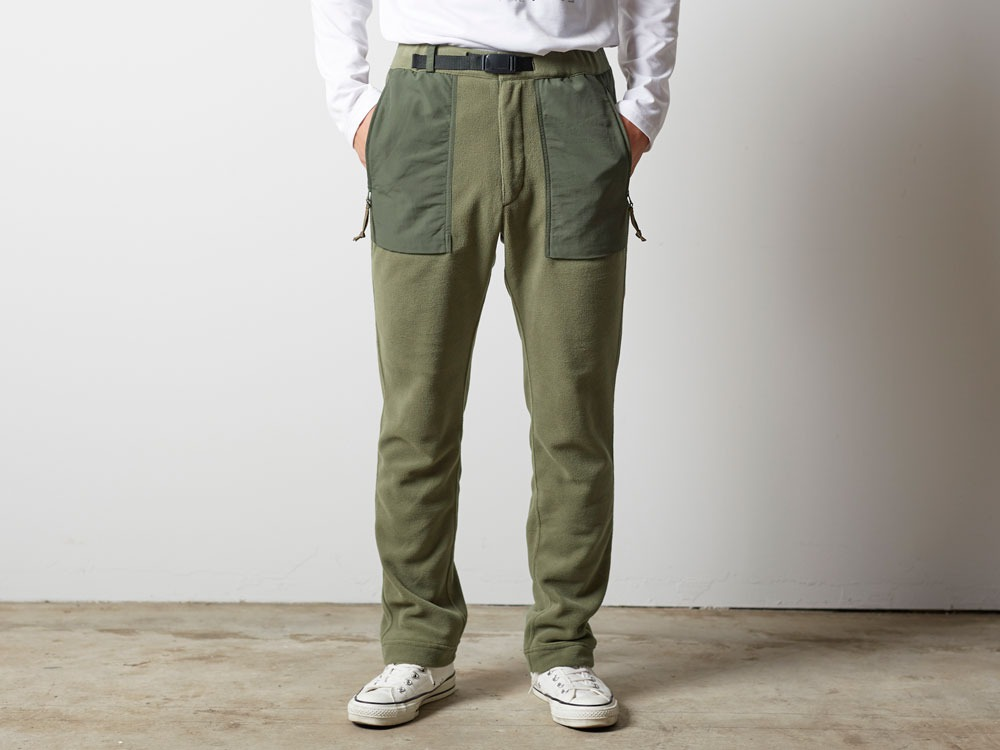 R/Pe Fleece Pants 1 Olive1