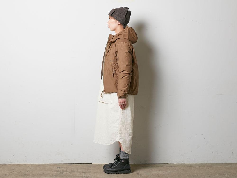 FR Down Jacket S Olive2
