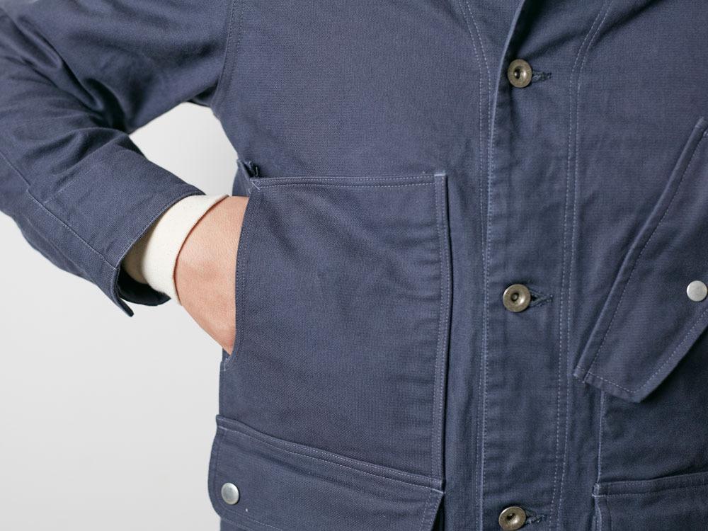 TAKIBI Coverall Jacket S Olive8