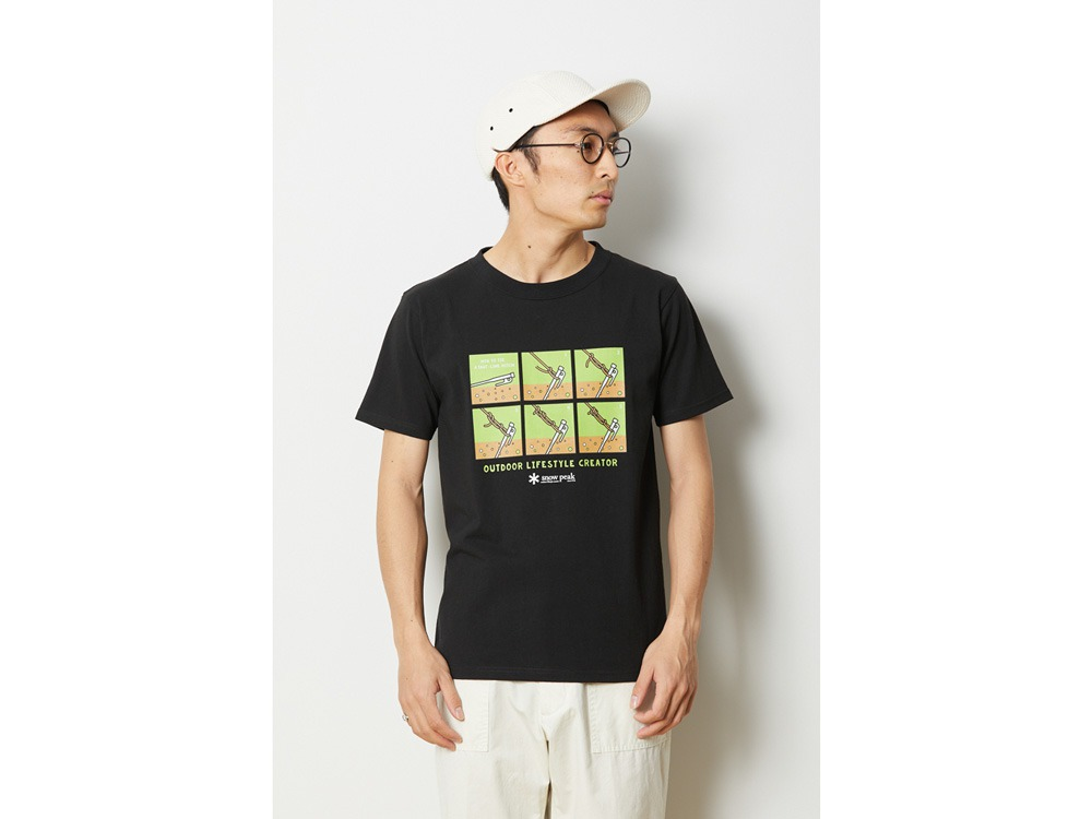 トートラインヒッチ Tシャツ M ブラック