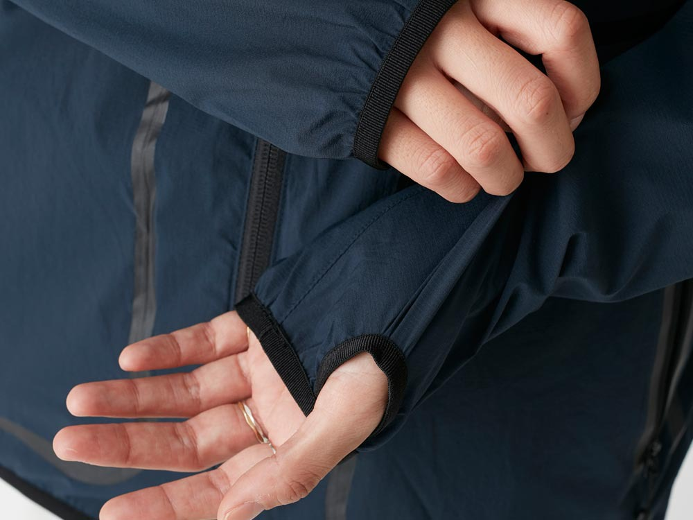 Rain&Wind Resistant Parka 2 White5