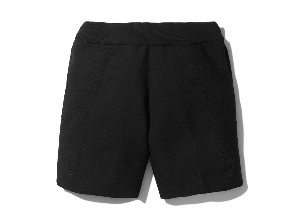 WGStretchKnitShortsS-1 XL Black0