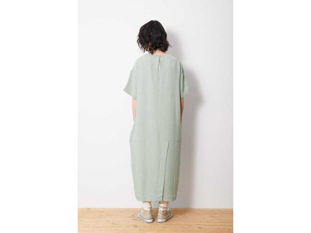 Quick Dry Crepe Weave Soft Dress 3 BK
