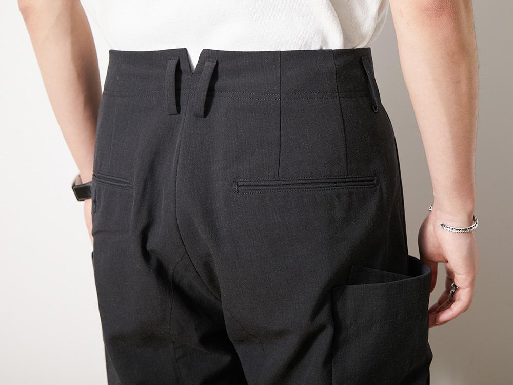 TAKIBI Pants S Olive