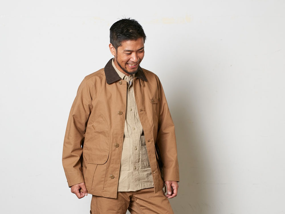 TAKIBICoverall XL Brown10