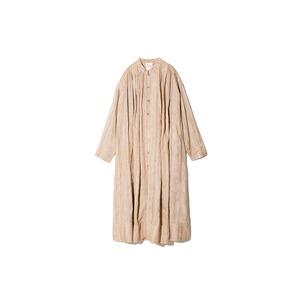 Hand-woven Wild Silk Tuck Coat