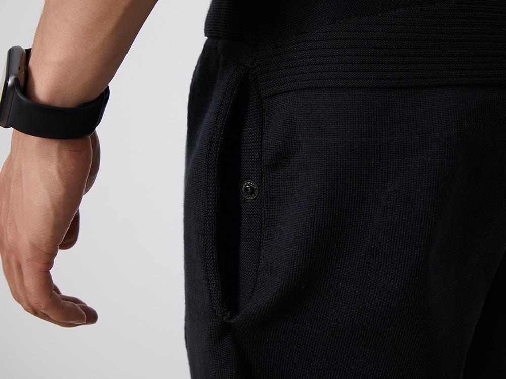 WG Stretch Knit Pants M Grey