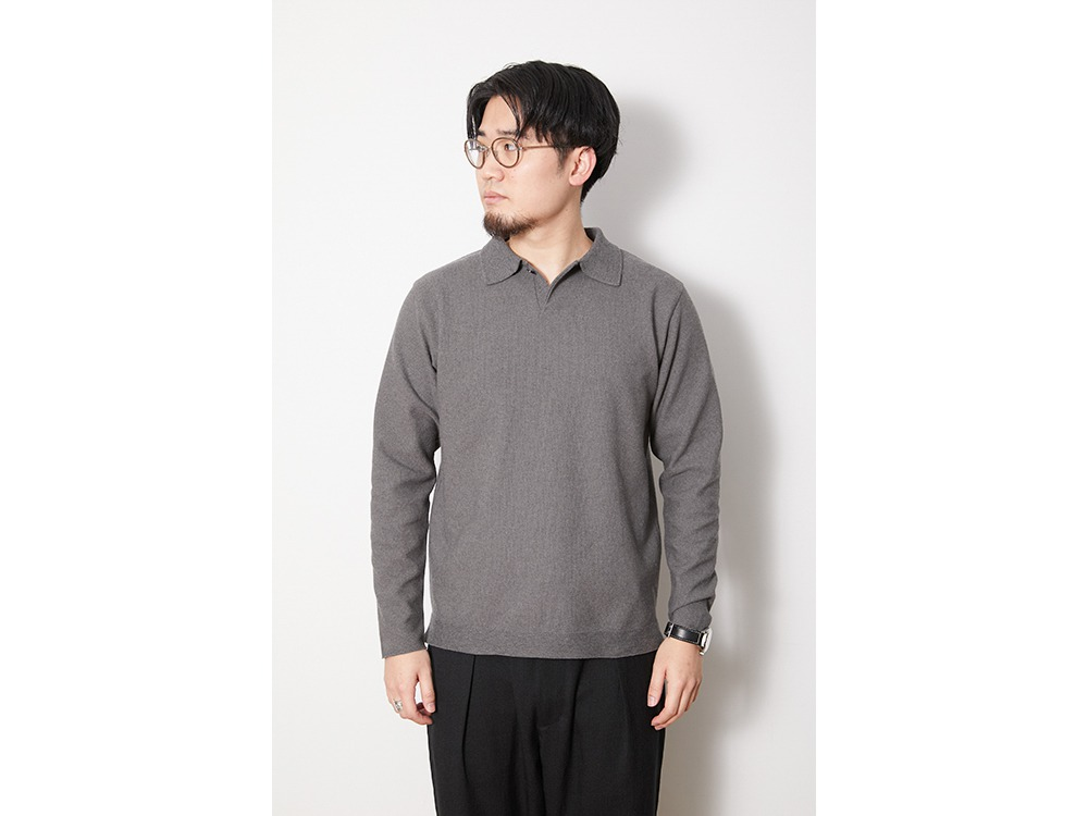 Co/Pe Dry Polo Shirt L Grey