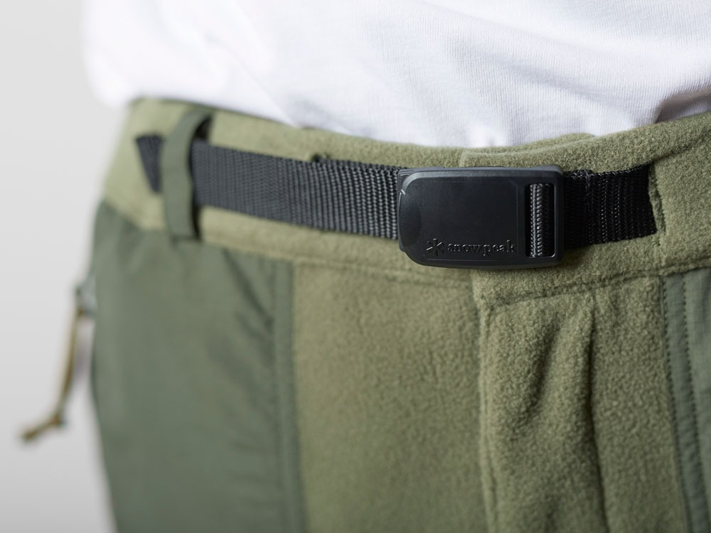 R/Pe Fleece Pants L Olive6