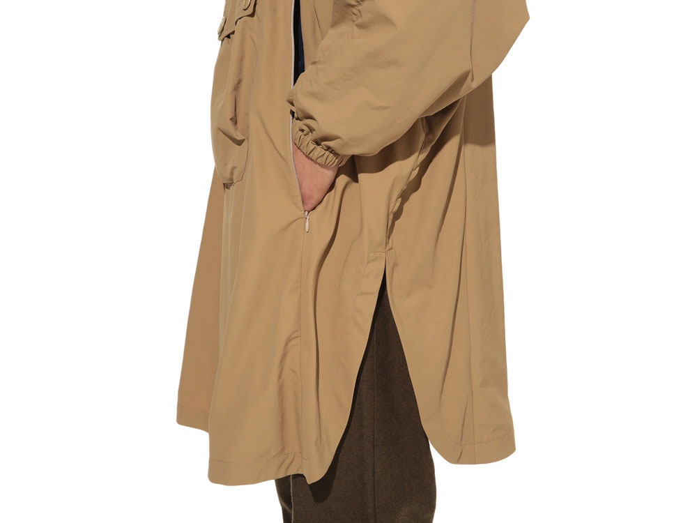 Camping Over Poncho M Beige8