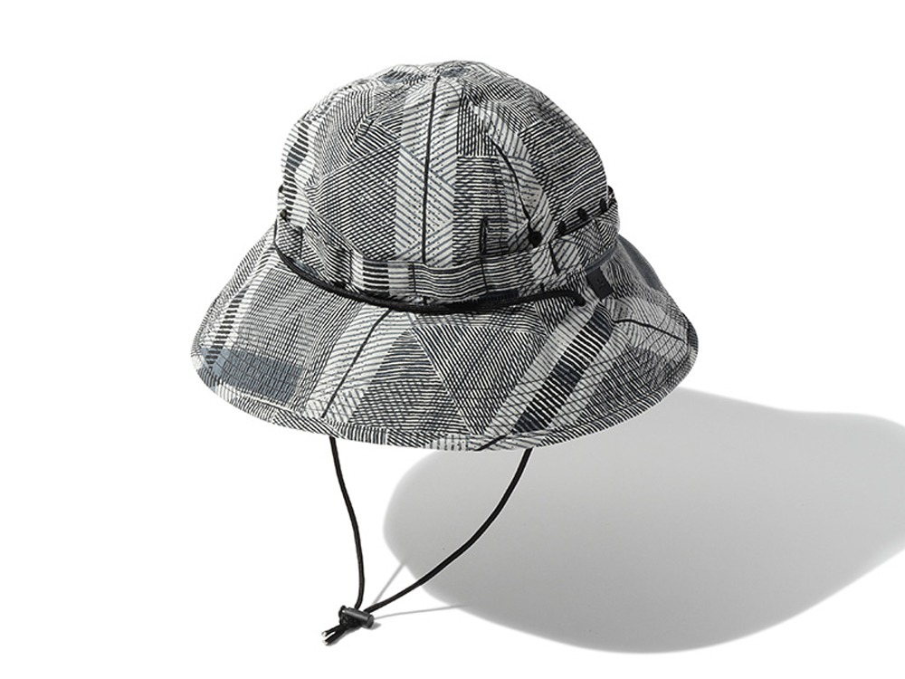 Printed Proof Canvas Hat One EcruNavy