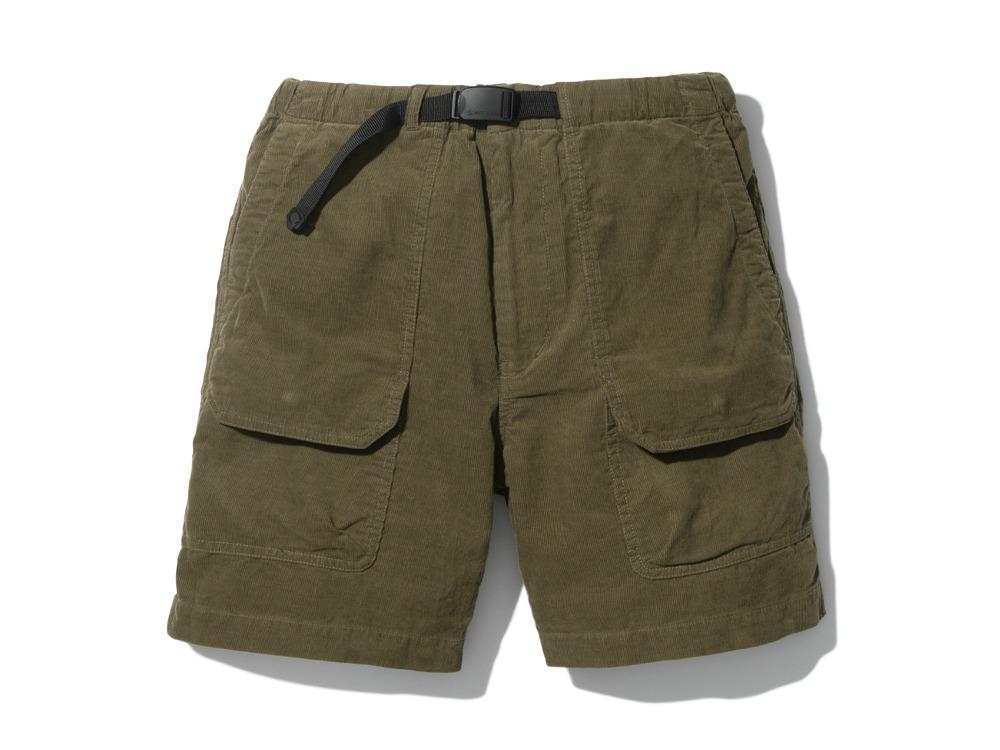 SummerCorduroyShorts XL Olive0