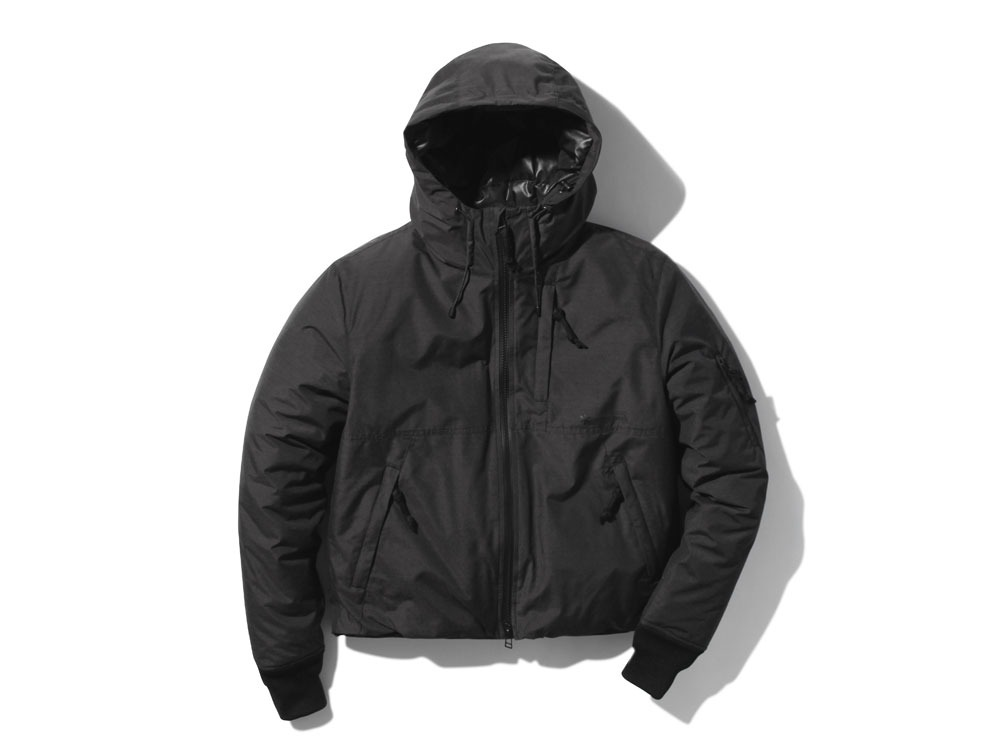 FR Down Jacket S Black0