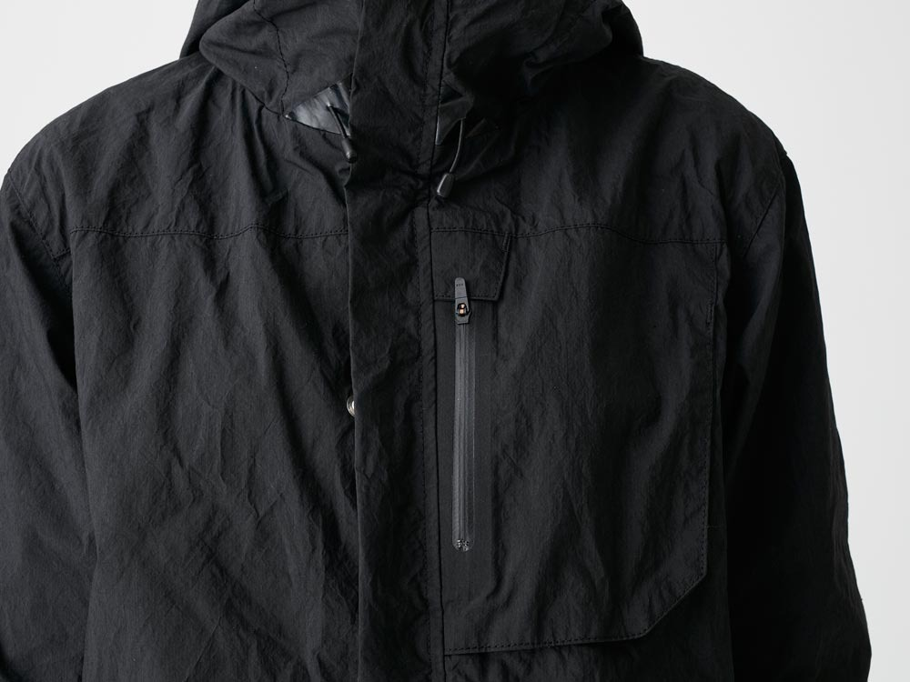 Indigo C/N Mountain Parka  L Black4