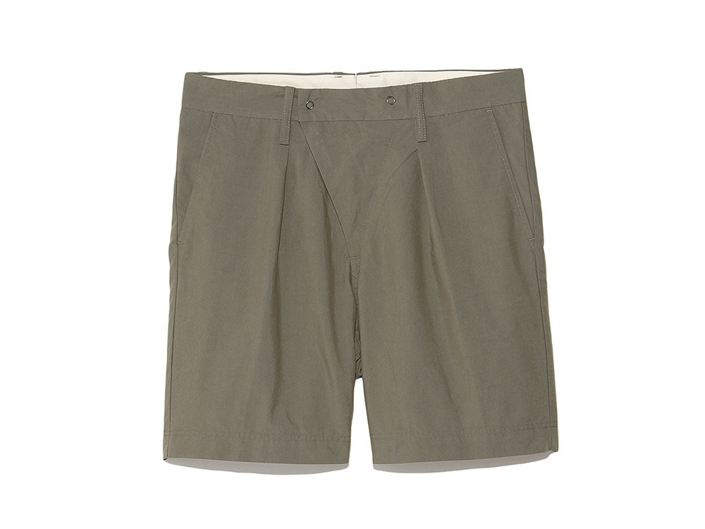 C/N Typewriter Shorts 1 Olive0