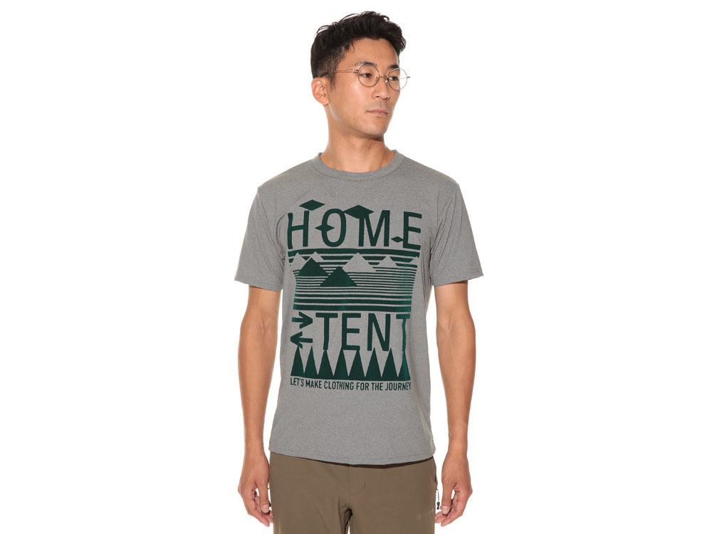 Solid HomeTent Tshirt 2 White2