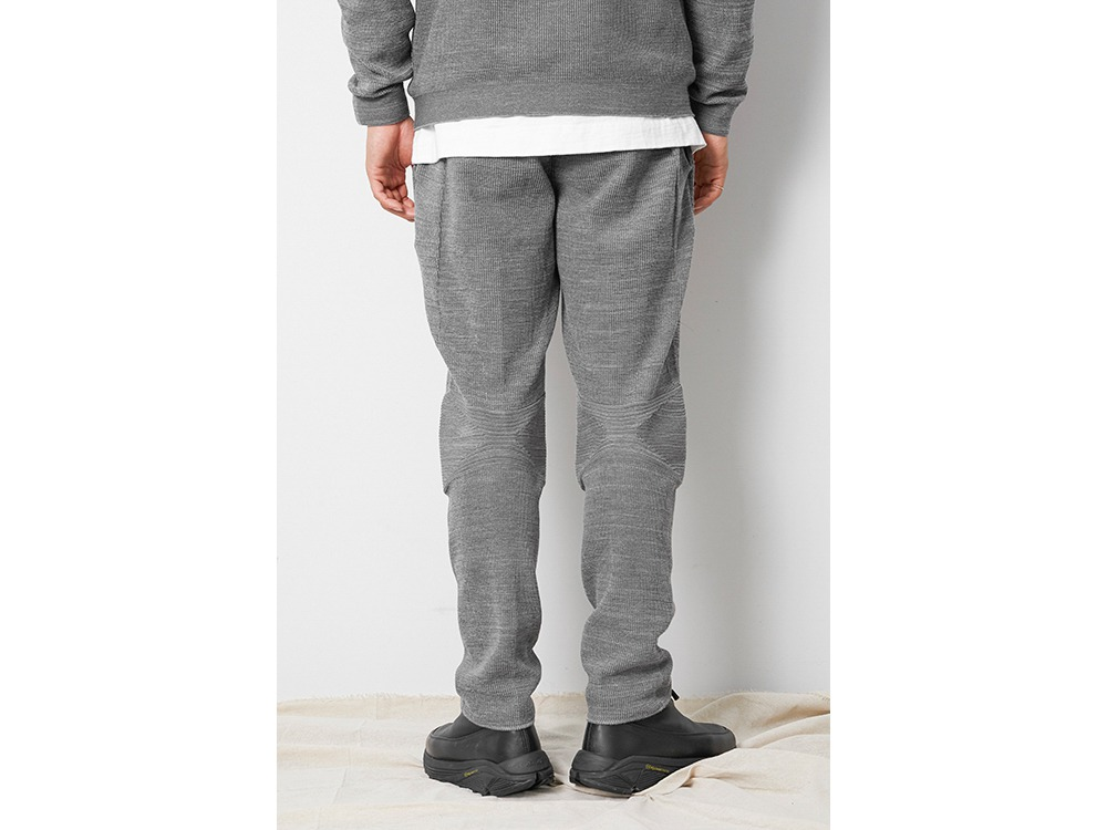 WG Stretch Knit Pants 1 M.Grey