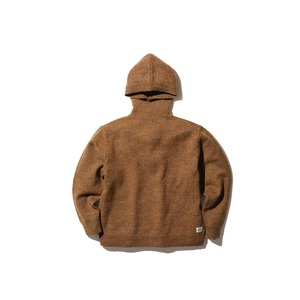 Shetland Wool Knit Parka