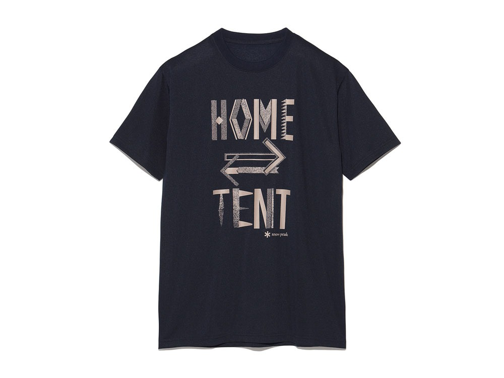 Printed Tshirt:HomeTent XL Navy0