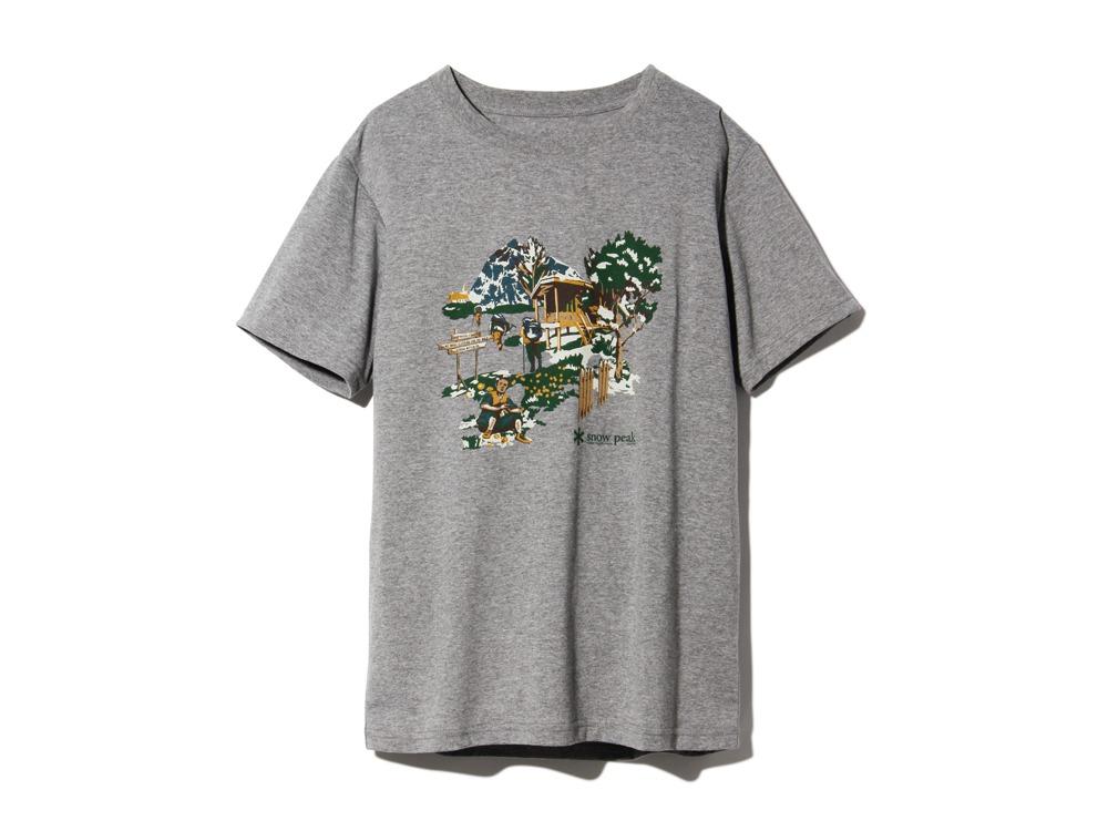 Campfield Tshirt XL Melange Grey0