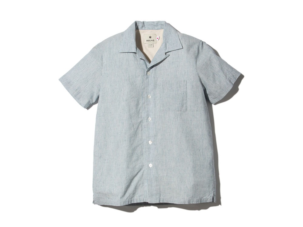 C/LStripedShirtB L Blue0
