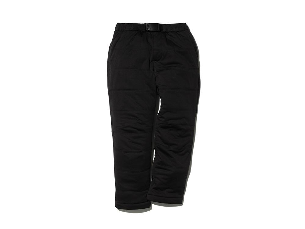 キッズフレキシブルインサレーション パンツ 1 ブラック