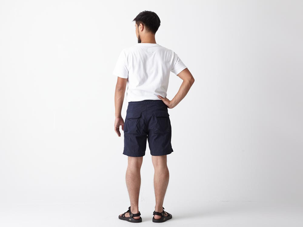 Indigo C/N  Anorak Shorts LIndigo3