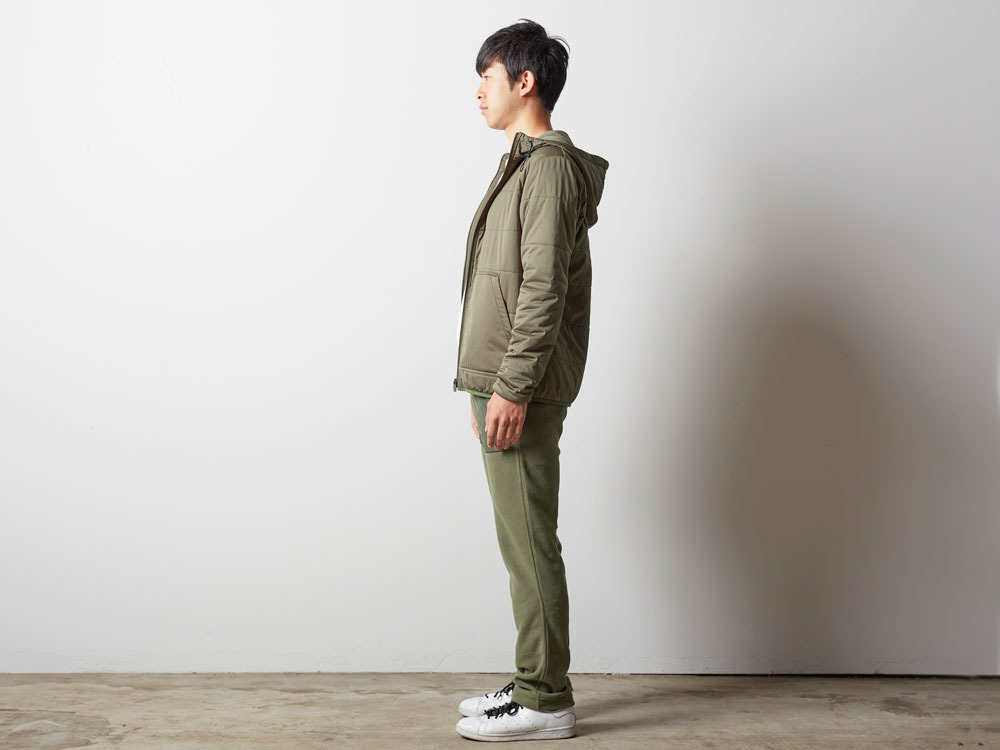 Flexible Insulated Hoodie S Olive2