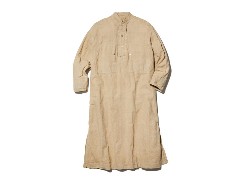Hand-woven Cotton Dress 1 KUSAKI