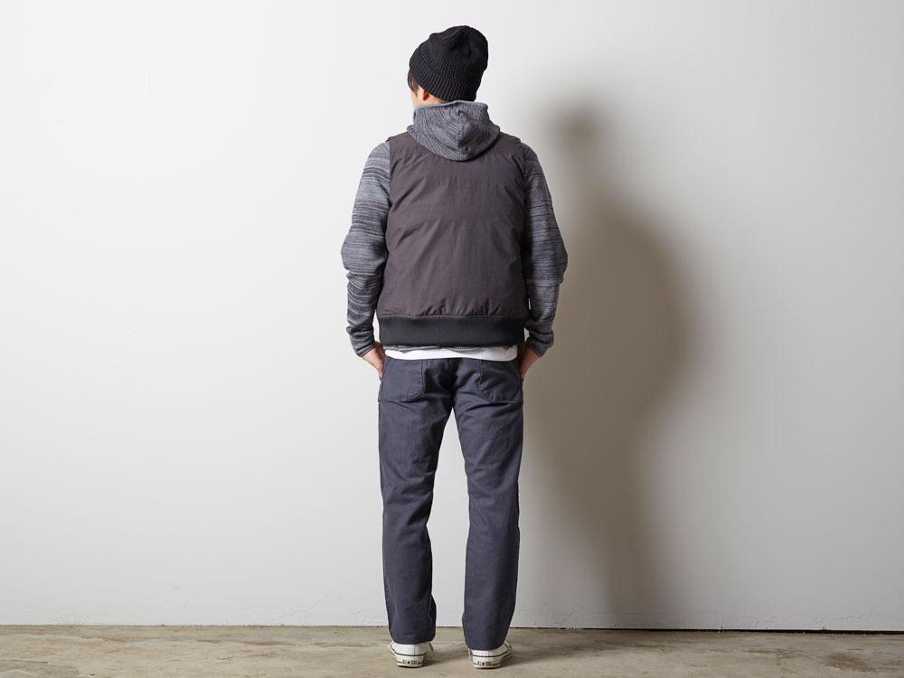 FR Down Vest XL Olive3